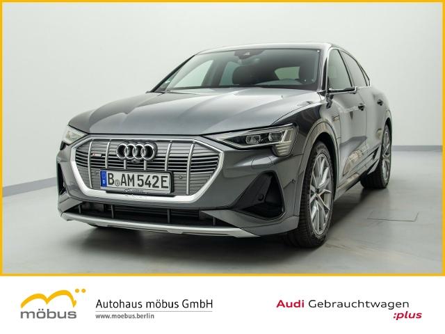 Audi e-tron Sportback QU*SLINE*VIRTUAL*LEDER*PANO*B&O, Jahr 2020, Elektro