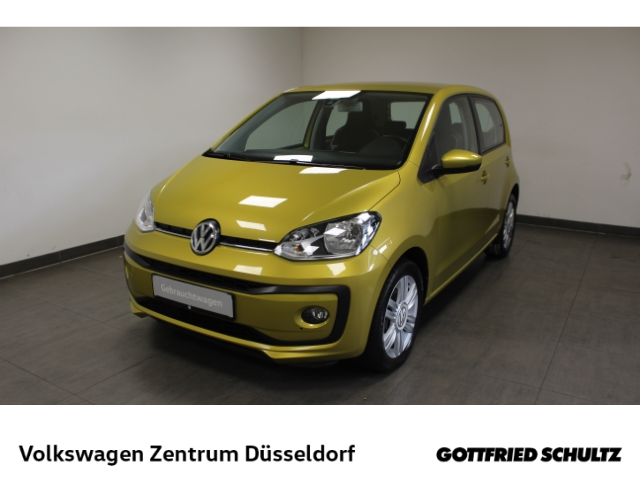 Volkswagen up! high *Leder*SHZ*PDC*GRA*Maps&More*Alu*, Jahr 2018, Benzin