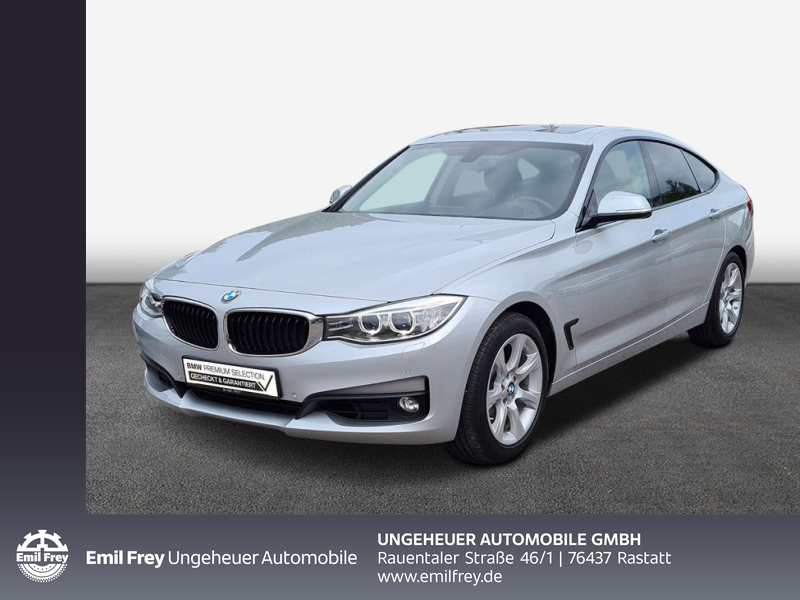 BMW 325d Gran Turismo Advantage Head-Up HiFi Xenon, Jahr 2016, Diesel