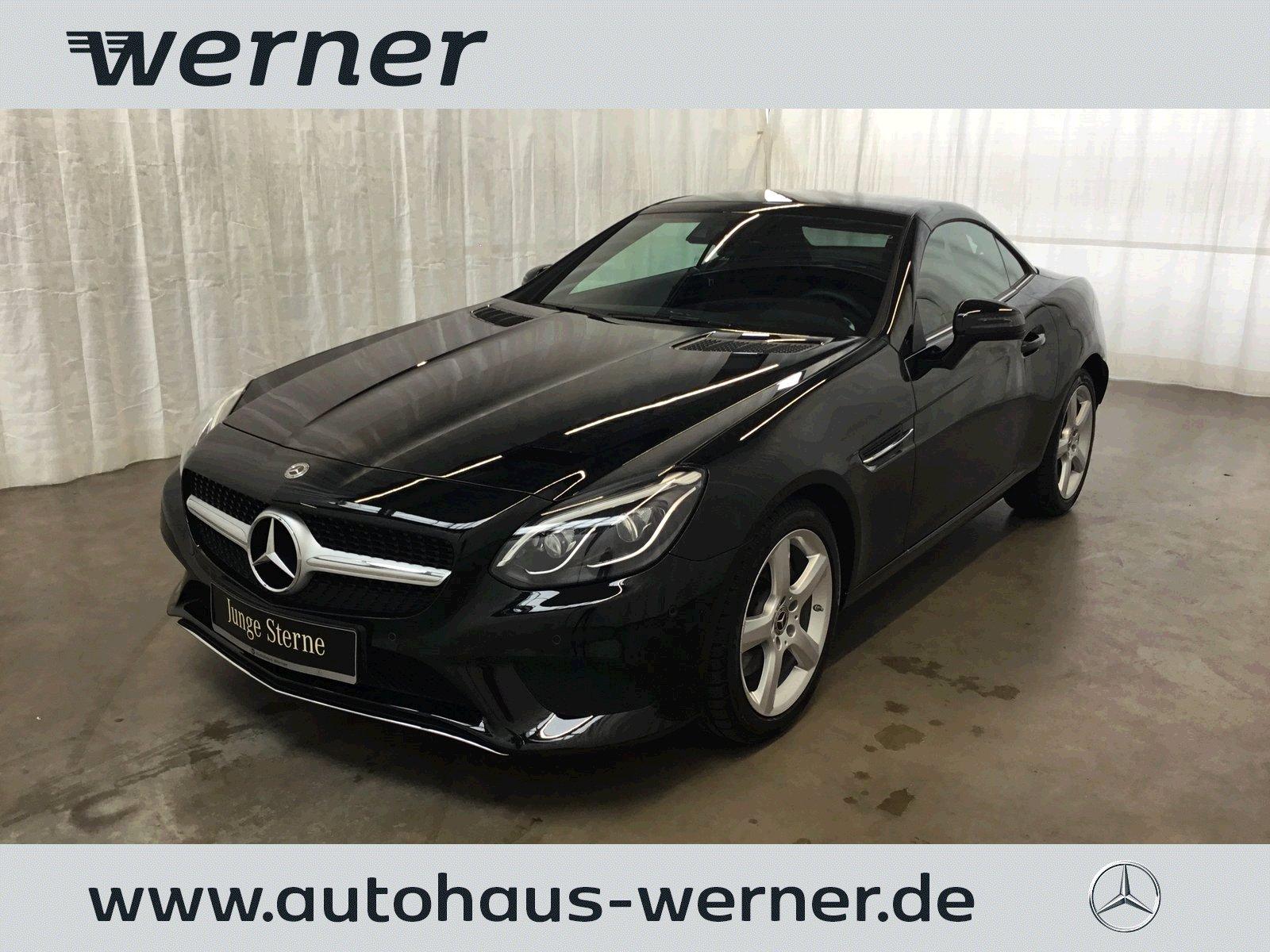 Mercedes-Benz SLC 200 Vollleder+LED+Park+Totwinkel+Navi+Alu17, Jahr 2019, Benzin