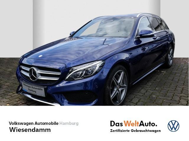 Mercedes-Benz C250 T AMG Line Automatik LM Klimaautomatik AHK schwenkbar Navi Leder, Jahr 2014, Benzin