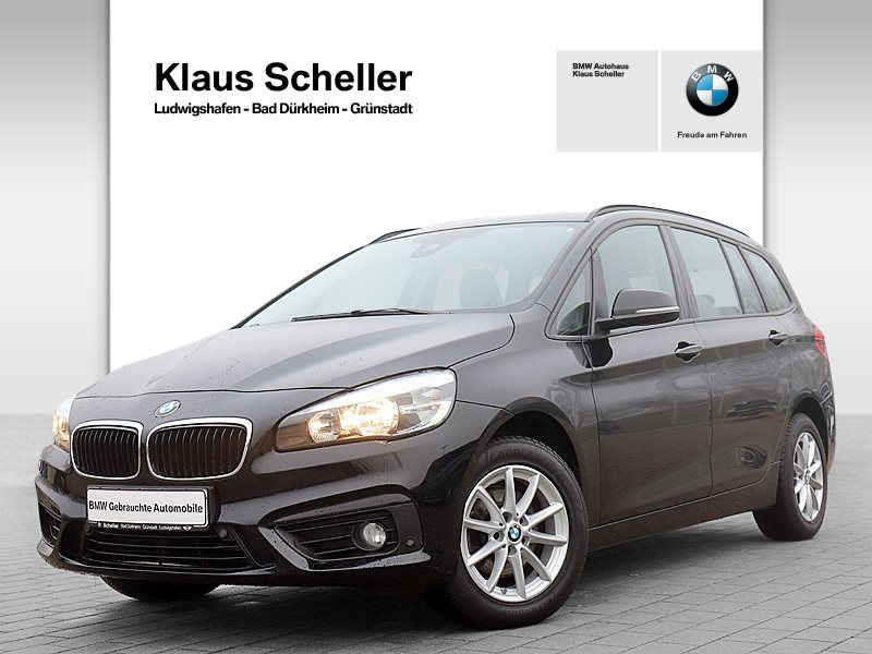 BMW 216d Gran Tourer Advantage Pano.Dach Navi AHK, Jahr 2017, Diesel