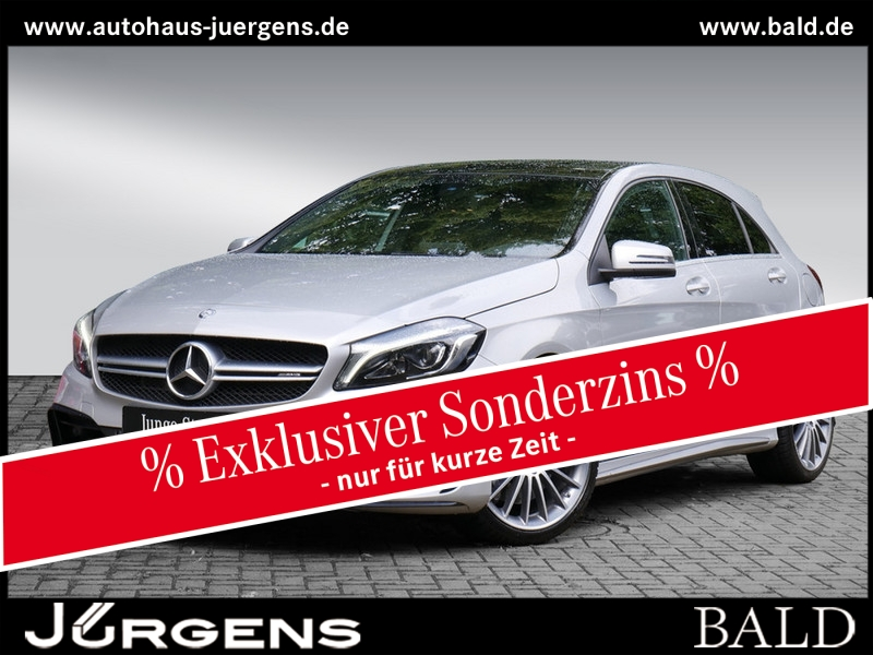 Mercedes-Benz A 45 AMG 4M Navi/LED/Panorama/Kamera/SHZ/19', Jahr 2016, Benzin