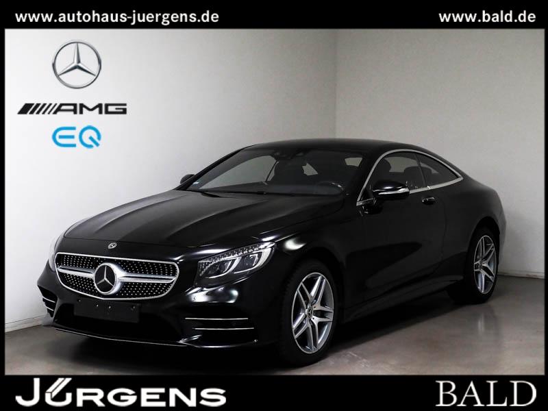 Mercedes-Benz S 450 4M Coupé AMG-Sport/Pano/Burm/HUD/TV/Memo, Jahr 2019, Benzin