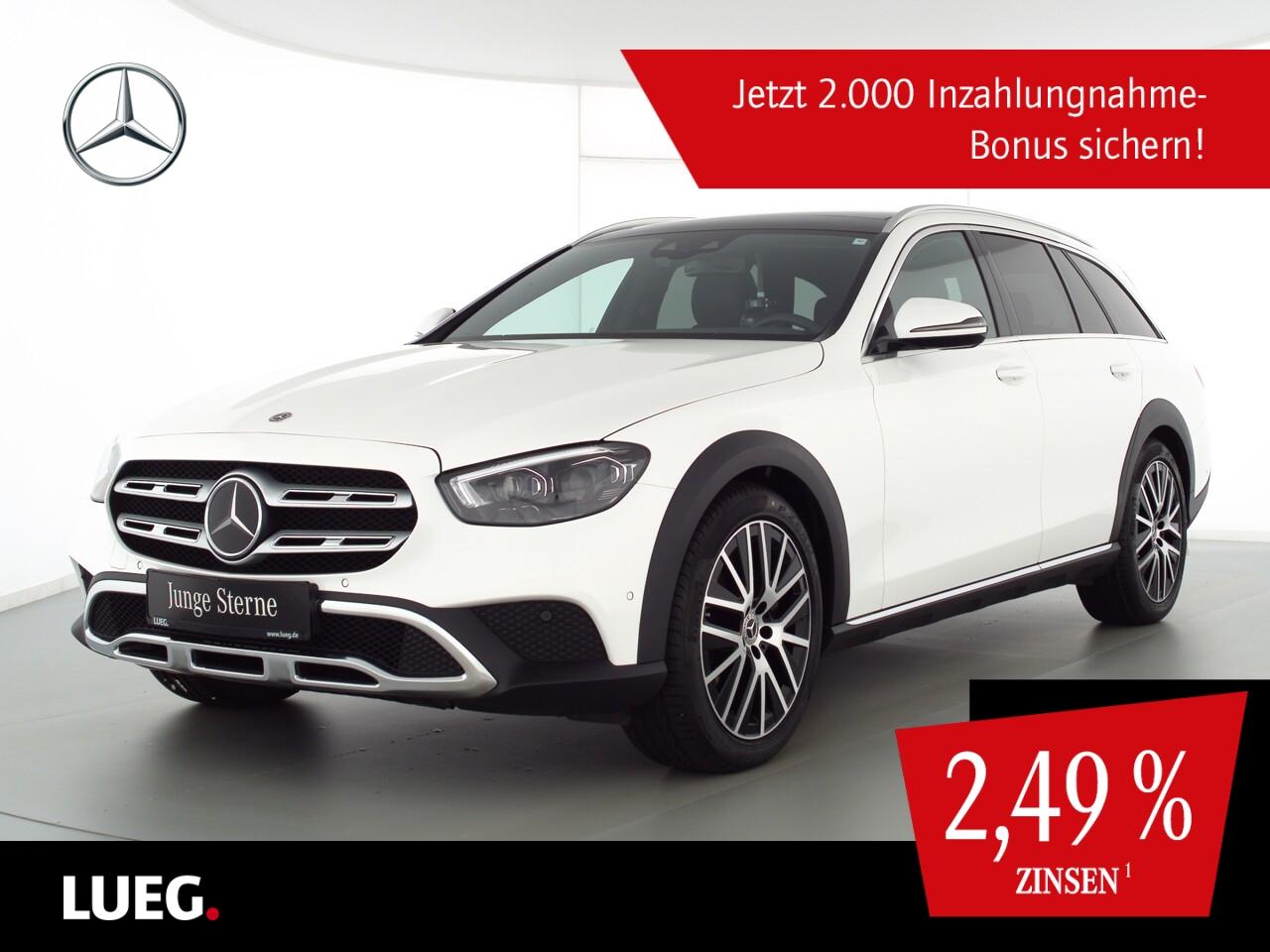 Mercedes-Benz E 400 d T 4M All-Terrain MBUXHighEd+PD+Mbeam+AHK, Jahr 2020, Diesel