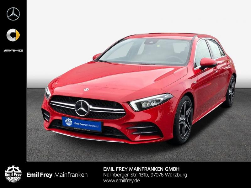 Mercedes-Benz A 35 AMG 4M LED MBUX Park-Paket Soundsystem, Jahr 2019, Benzin