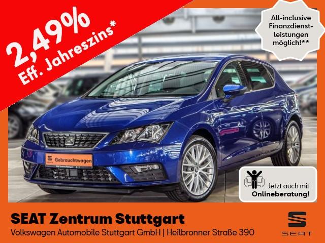 Seat Leon Style 1.5 TGI DSG ERDGAS NAVI, Jahr 2020, Gas
