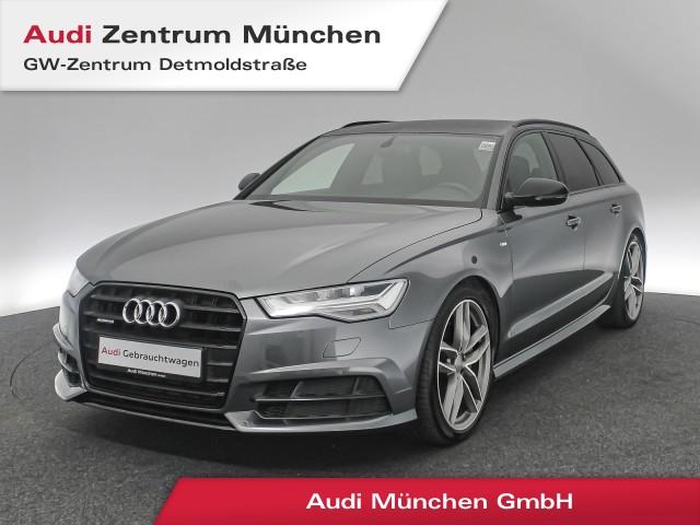 "Audi A6 Avant 2.0 TFSI qu. S line BlackEdition 20"" BOSE Luftfw. LED Navi Leder R-Kamera S tronic, Jahr 2018, petrol"