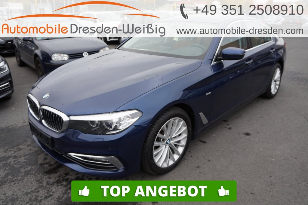 BMW 540 i Luxury Line*Harman/Kardon*Navi*Glasdach*, Jahr 2017, Benzin