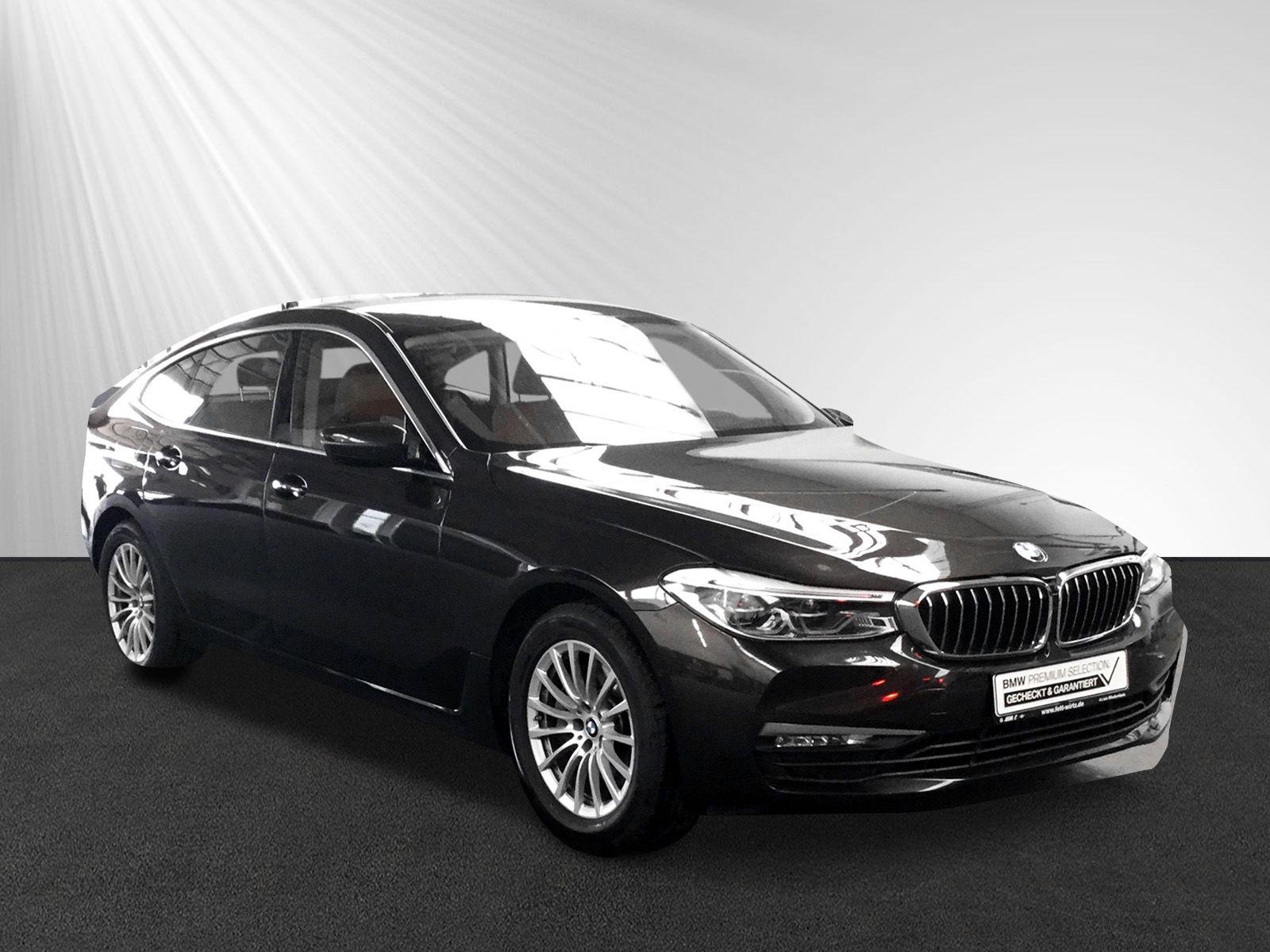 BMW 630 Gran Turismo GT Leas 444,- br. o. Anz. 42 Mon/10''Km p.A., Jahr 2018, petrol