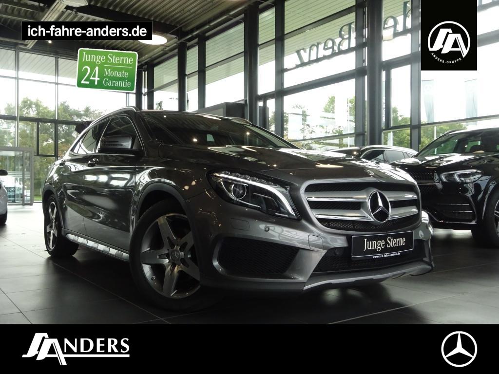 Mercedes-Benz GLA 250 AMG+AHK+Navi+SHZ+Bi-Xenon+Kam+Memory+PDC, Jahr 2015, Benzin