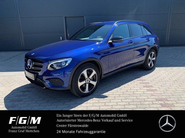 Mercedes-Benz GLC 350 d 4M Exclusive/Comand/Night/LED-ILS/AHK, Jahr 2018, Diesel