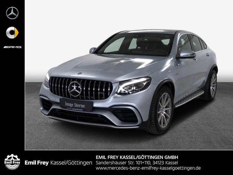 Mercedes-Benz GLC 63 AMG 4M+ Cp+Memo+Distro+Navi+ParkAssist, Jahr 2018, Benzin