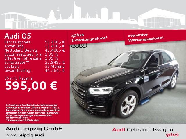 Audi Q5 55 TFSI e quattro sport S-tronic *LED*Navi*, Jahr 2020, Hybrid