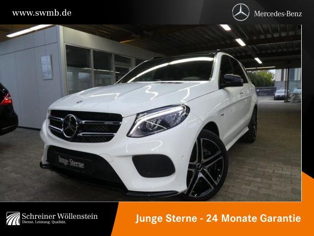 Mercedes-Benz GLE 43 AMG 4M Night*COM*FAP*Pano*AIRMATIC*360°*, Jahr 2017, petrol