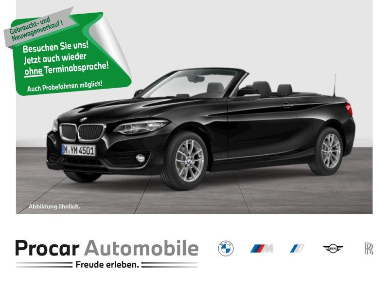 BMW 218i Cabrio Aut. Navi LED Leder Lenkradhzg. HIFI, Jahr 2018, Benzin
