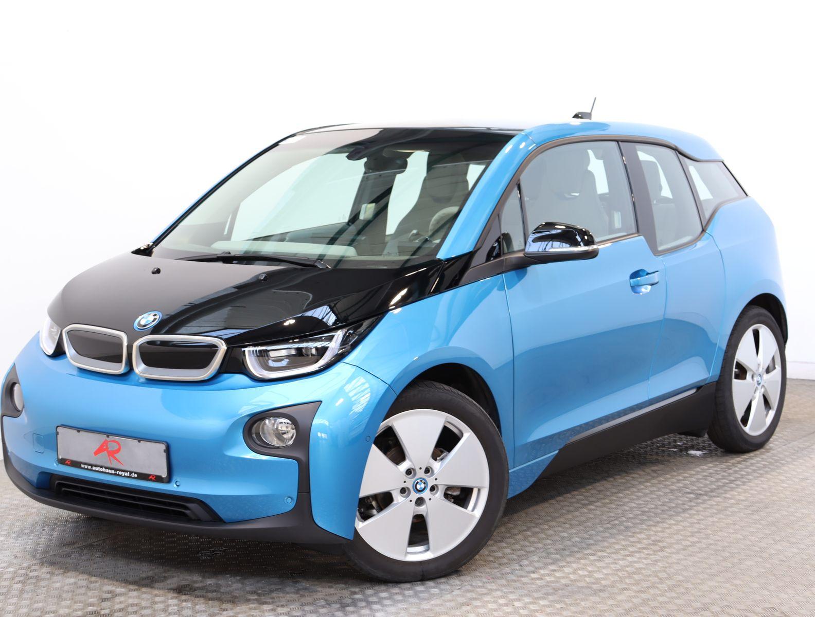 BMW i3 94Ah PARKLENKASSIST,KAMERA,NAVI,SCHNELL-LADEN, Jahr 2017, Elektro