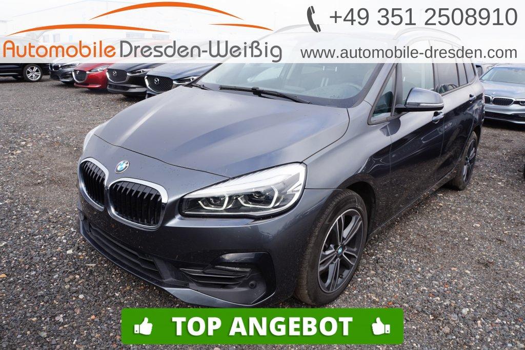 BMW 216 Gran Tourer i Sport Line*Navi*UPE 40.430€, Jahr 2019, Benzin