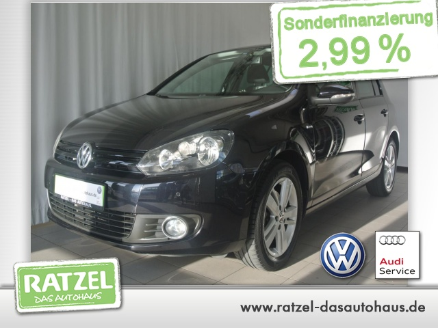 Volkswagen Golf VI 1.2 TSI Match Climatronic LM-Felgen SHZ, Jahr 2012, Benzin