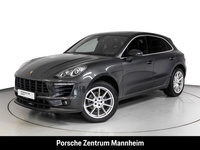 Porsche Macan LED Pano SHZ Parkass. v+h Spurhalteass., Jahr 2017, Benzin