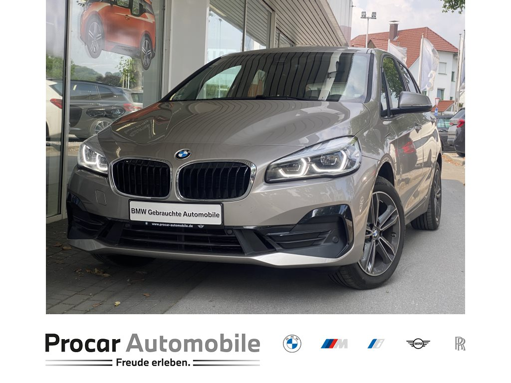 BMW 225xe AT Hybrid Sport Line +Head-Up +Navigation +DAB +LED +Shz +PDC +Panorama, Jahr 2021, Hybrid