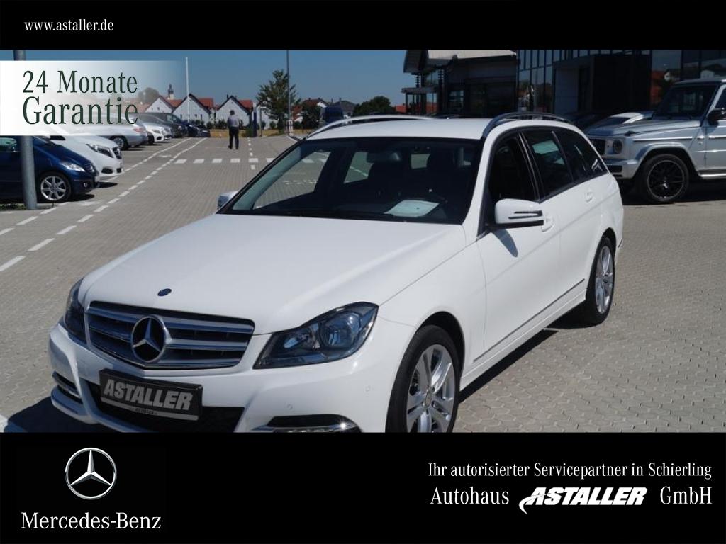 Mercedes-Benz C 180 T Avantgarde+AHK+Klimautom+SHZ+NAVI+8fach, Jahr 2014, Benzin