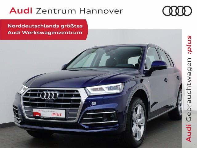 Audi Q5 40 TDI S line Sel., Pano, AHK, virtual, Alcant., LED, Jahr 2020, Diesel