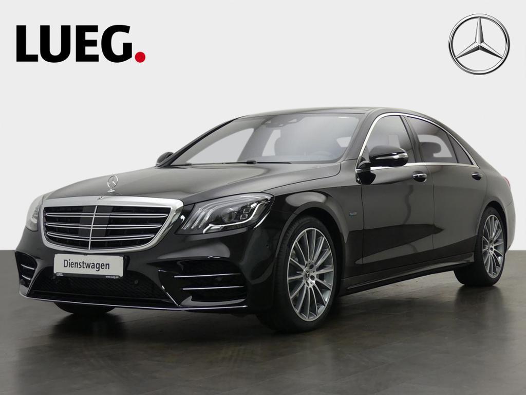 Mercedes-Benz S 560 e L AMG+20''+PANO+HUD+360°+FAHRASS+NP145T, Jahr 2019, Hybrid