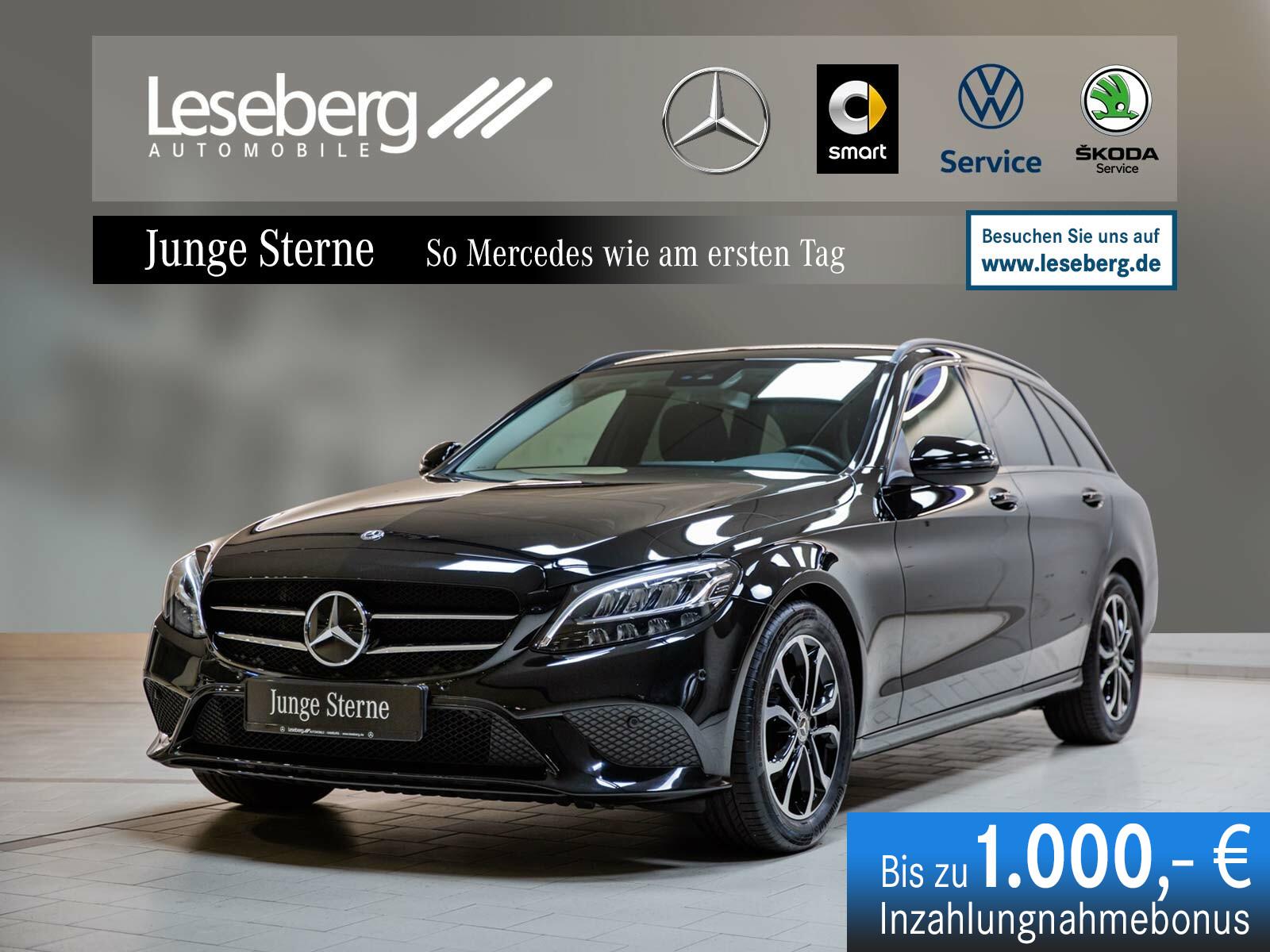Mercedes-Benz C 180 T Avantgarde/Night/Apple CarPlay/Android, Jahr 2020, Benzin
