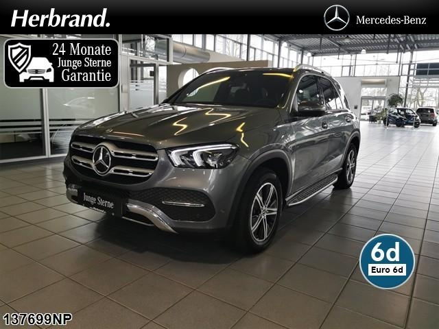 Mercedes-Benz GLE 300 d 4M WD-Screen AHK KED MBUX PanoSD 360°, Jahr 2020, Diesel