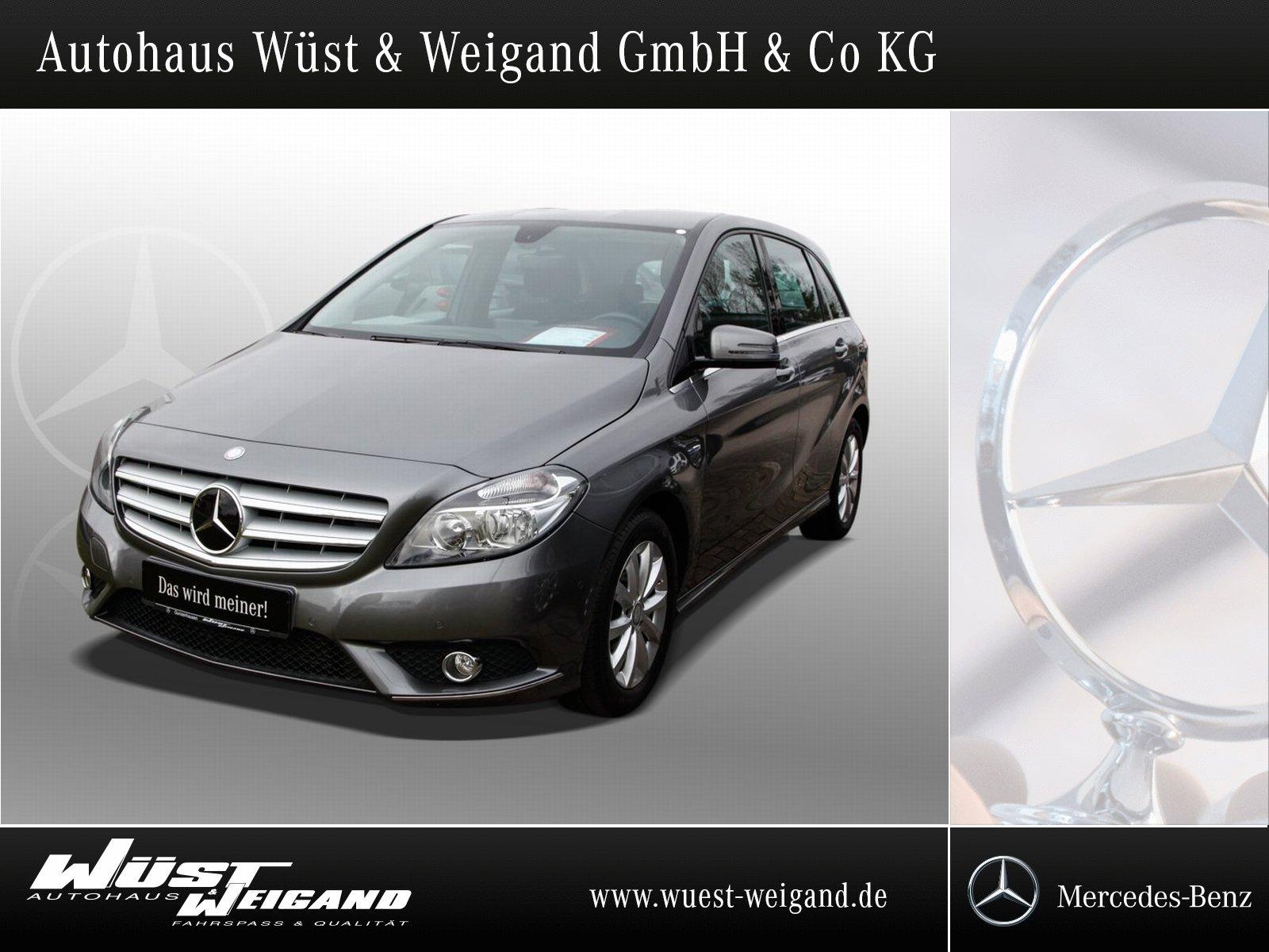 Mercedes-Benz B 200 BE Klima+Navi+AHK+PTS+Spiegel Paket, Jahr 2012, petrol
