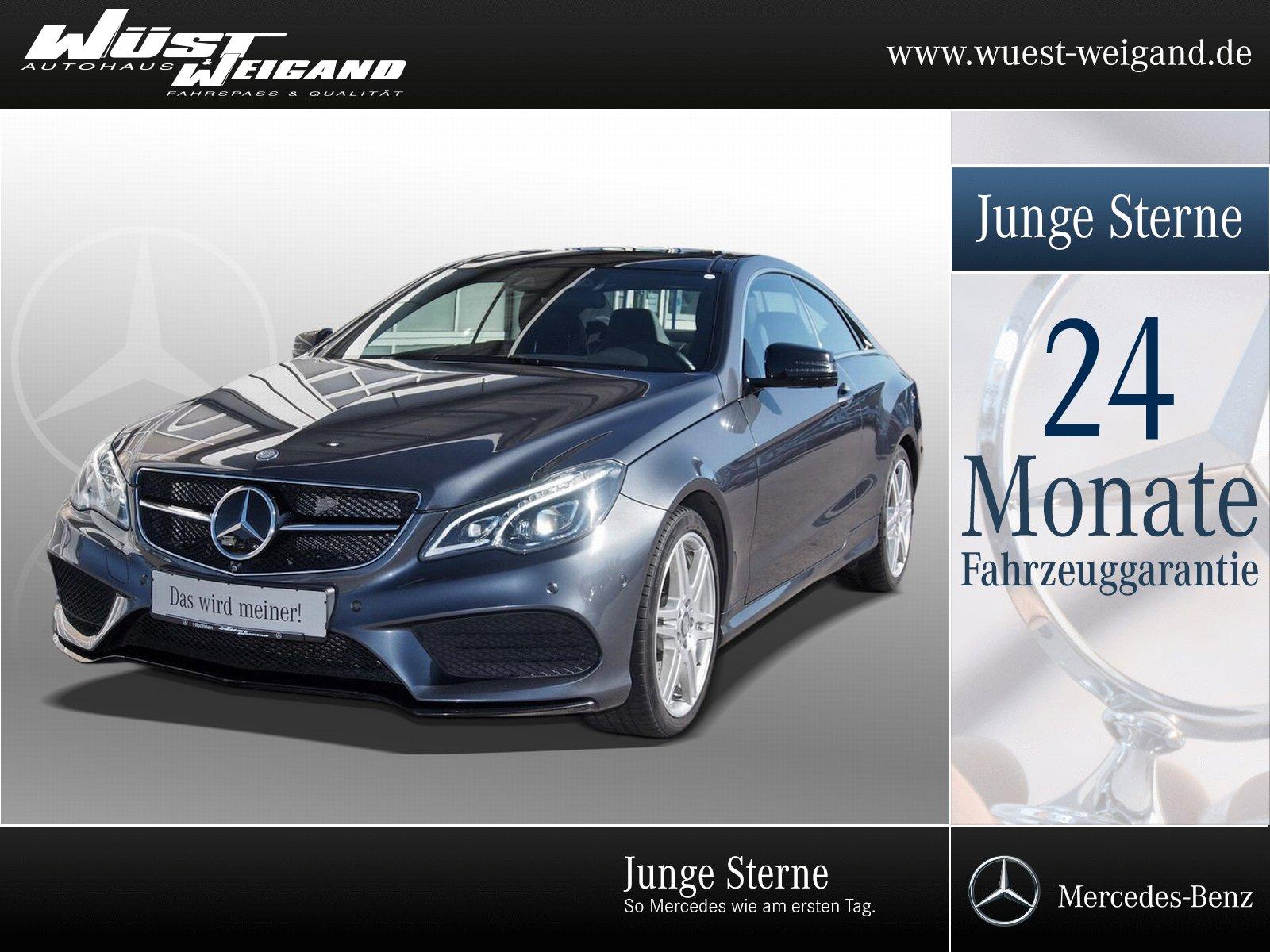 Mercedes-Benz E 500 Coupé AMG-Plus+Pano+Sitzklima+360°+Memory, Jahr 2014, Benzin