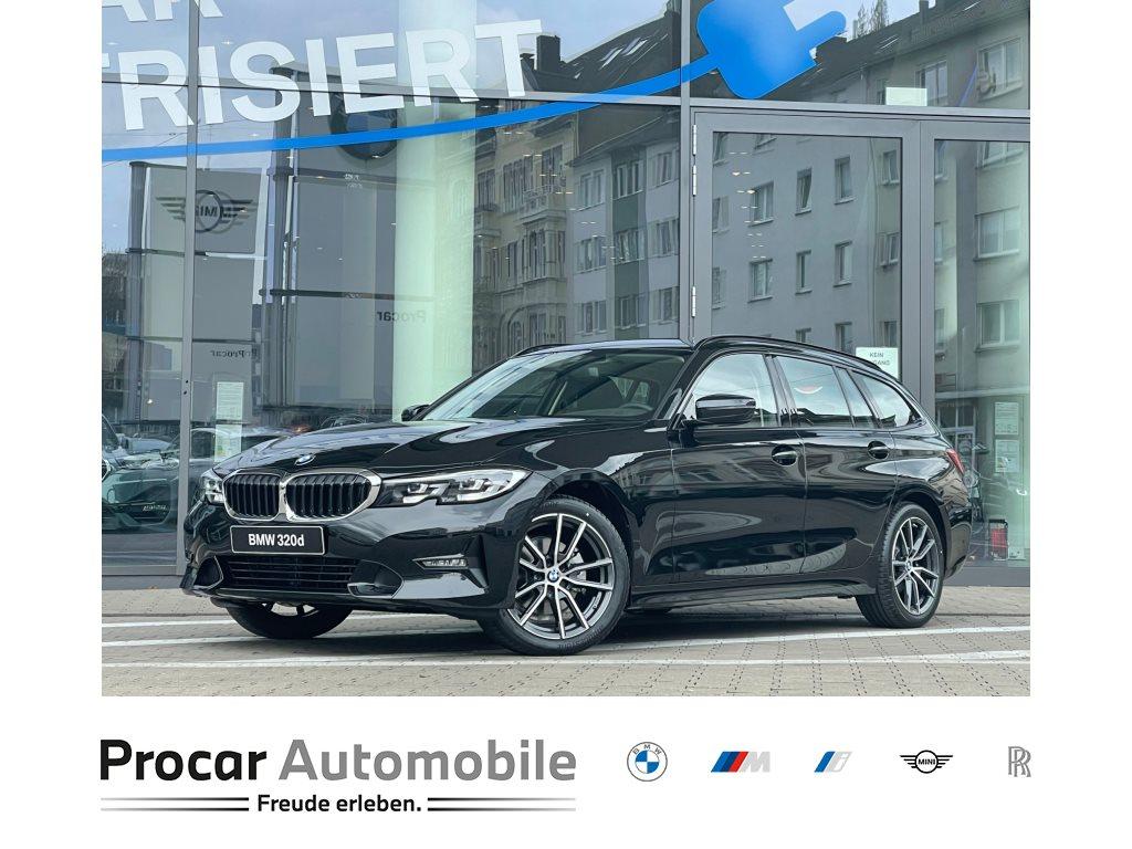 BMW 320d Touring Sport Line DAB LED Tempomat Shz, Jahr 2021, Diesel