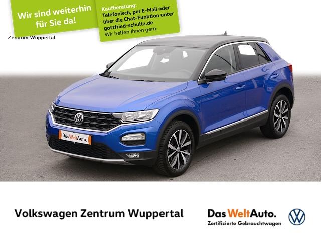 Volkswagen T-Roc 1,5 TSI Style NAVI VC SHZ PDC LM ZV, Jahr 2020, Benzin