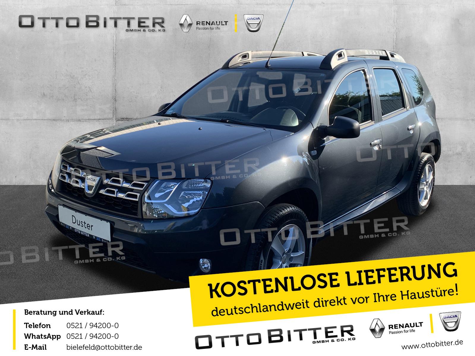 Dacia Duster 1.5 dCi110 Laureate ANHÄNGERKUPPLUNG, Jahr 2015, Diesel