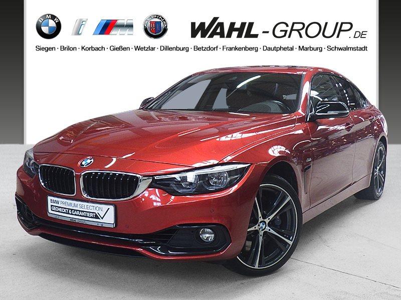 BMW 435d xDrive Gran Coupé Sport Line Head-Up LED, Jahr 2017, Diesel