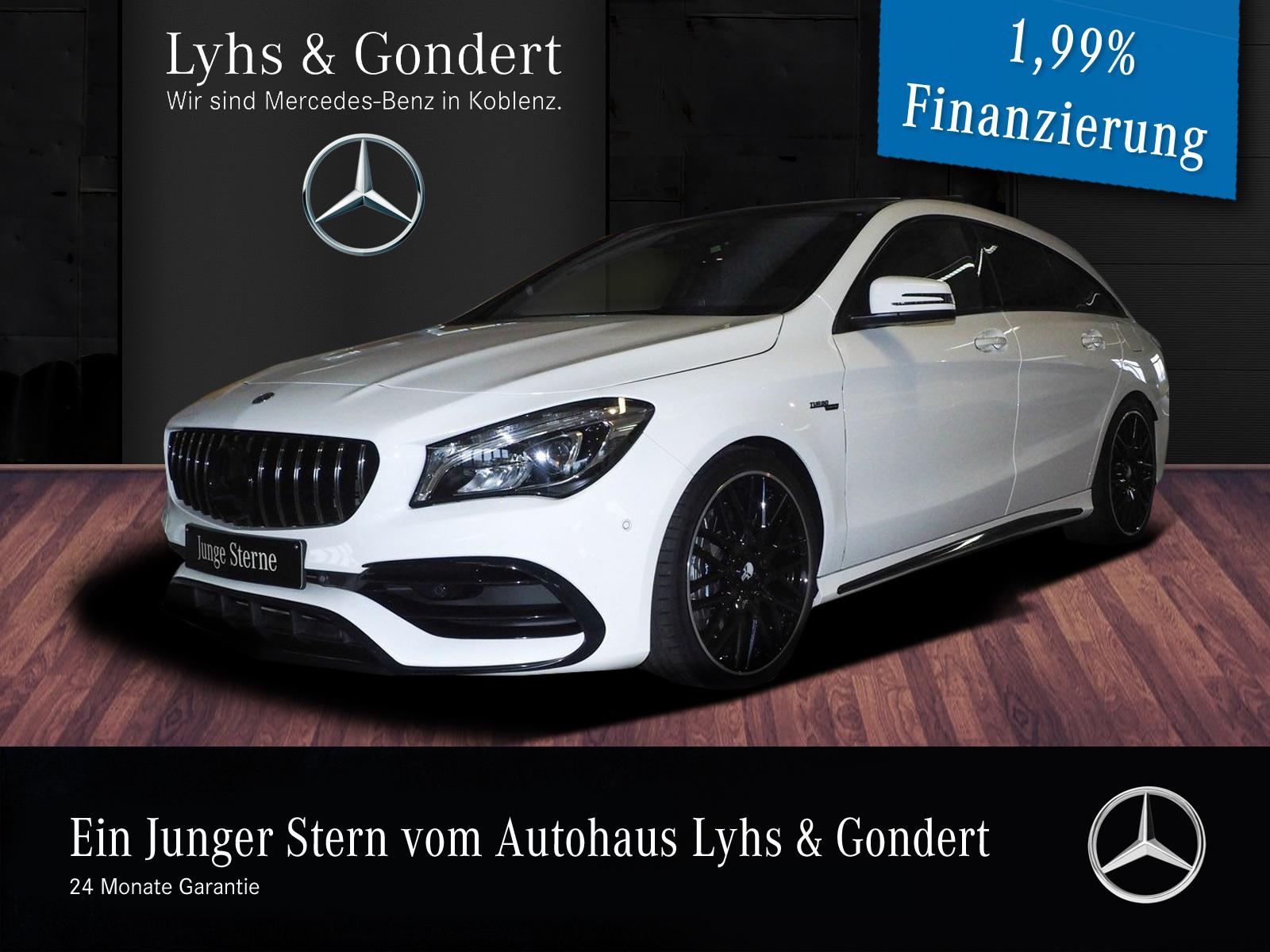 Mercedes-Benz AMG CLA 45 4MATIC Shooting Brake Designo Drivers, Jahr 2018, Benzin