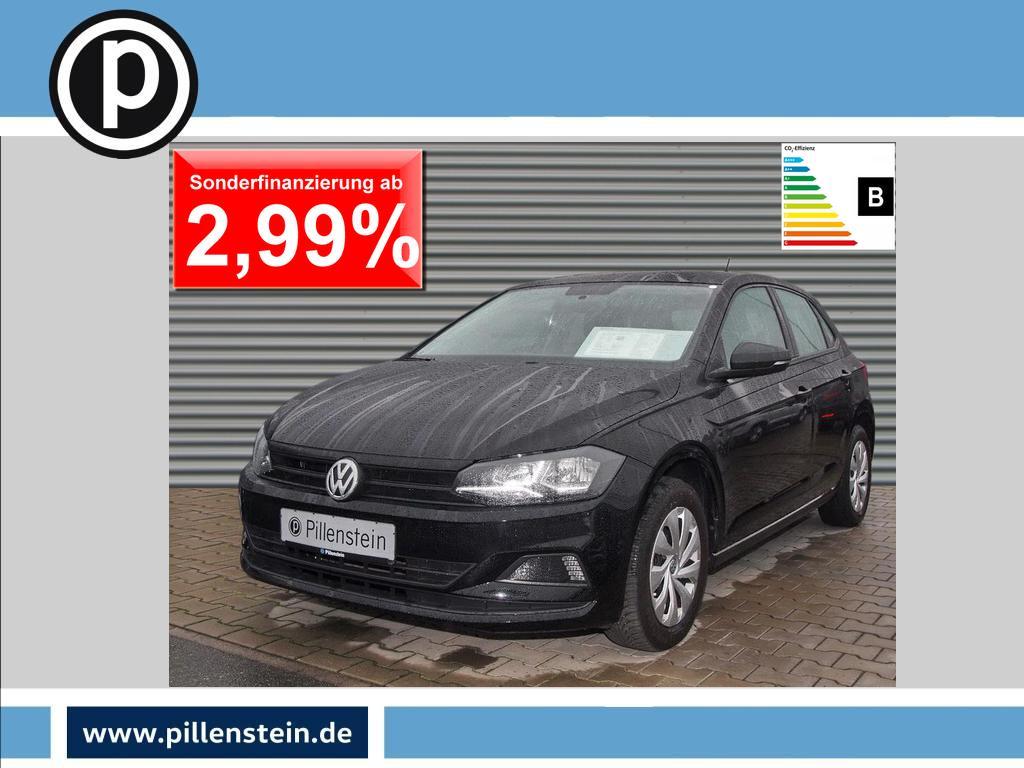 Volkswagen Polo 1.0 Trendline RADIO SITZHEIZUNG KLIMA, Jahr 2018, Benzin