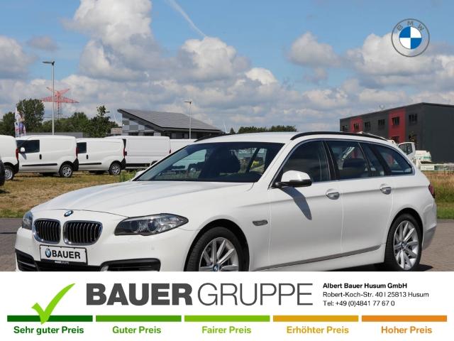 BMW 520 d Touring Navi Keyless Niveau AHK-klappbar El. Heckklappe PDCv+h LED-Tagfahrlicht Multif.Lenkrad, Jahr 2014, Diesel