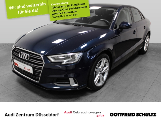 Audi A3 Limousine Sport 1.6 TDI S-tronic, Jahr 2018, Diesel