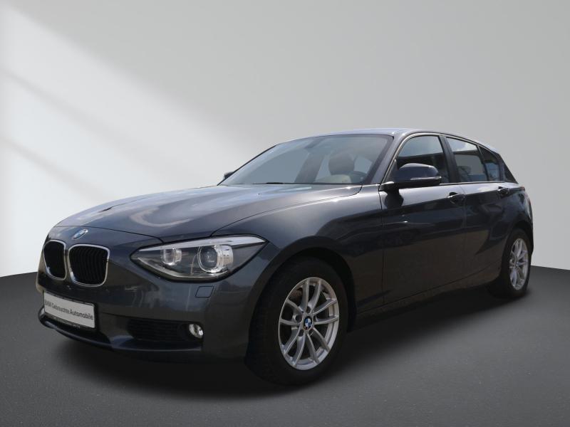 BMW 118i Klimaaut. Xenon AHK LM PDC NSW Lederlenkrad, Jahr 2012, Benzin