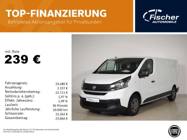 Fiat Talento L2H1 Kasten SX DAB/Klima/Bluetooth, Jahr 2021, Diesel