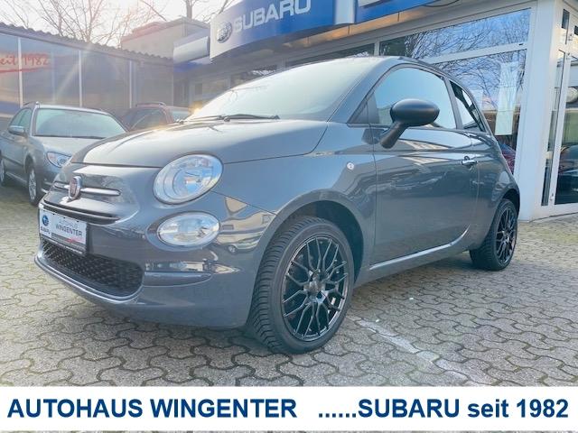 Fiat 500 Pop Star 1.2 8V*16 Zoll Alufelgen*1.Hand, Jahr 2017, Benzin