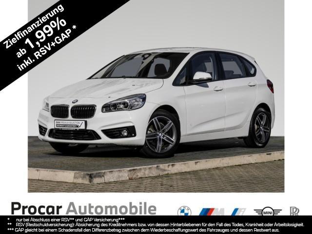 BMW 218 Active Tourer Sport Line Navi LED PDC, Jahr 2015, Diesel