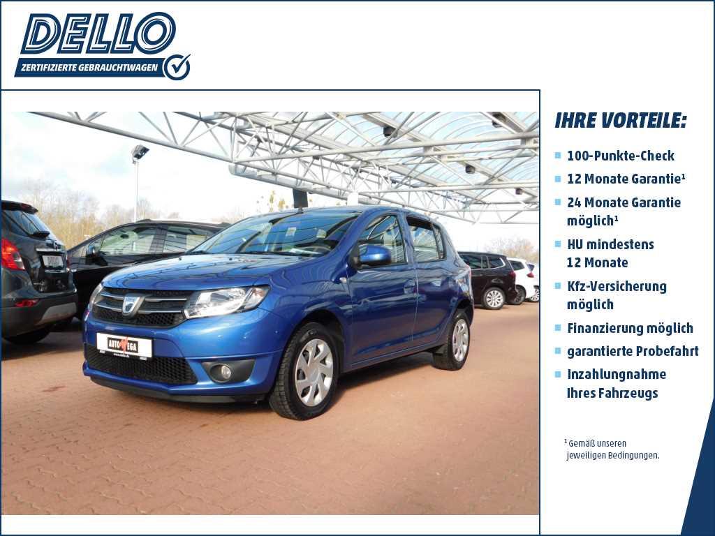 Dacia Sandero II Laureate Navigation Bluetooth, Jahr 2014, Benzin