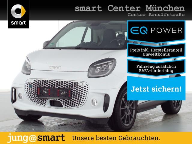 smart fortwo EQ 60kW pulse Exclusive Sport 5000?BAFA, Jahr 2021, Elektro