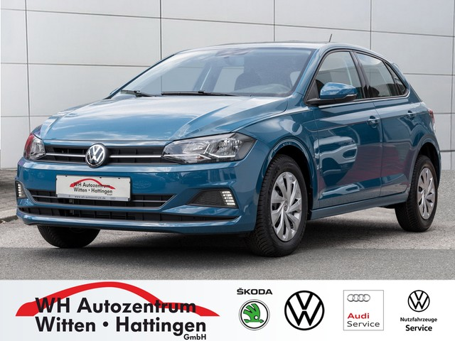 Volkswagen Polo 1,0 l Comfortline Sitzhzg Klima App-Connect, Jahr 2019, Benzin