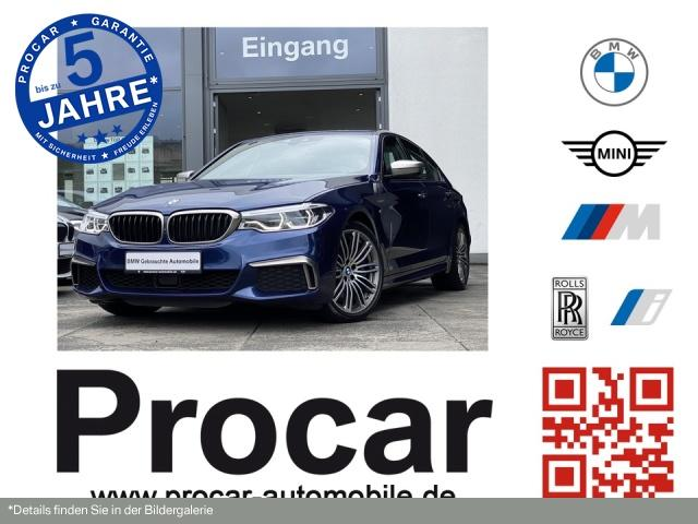 BMW M550i xDrive Navi LED HuD PA+ DA RFK Glasdach, Jahr 2017, Benzin