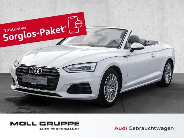 Audi A5 Cabriolet 2.0 TFSI S tronic (Alcantara*Navi plus*B+O Sound), Jahr 2017, Benzin