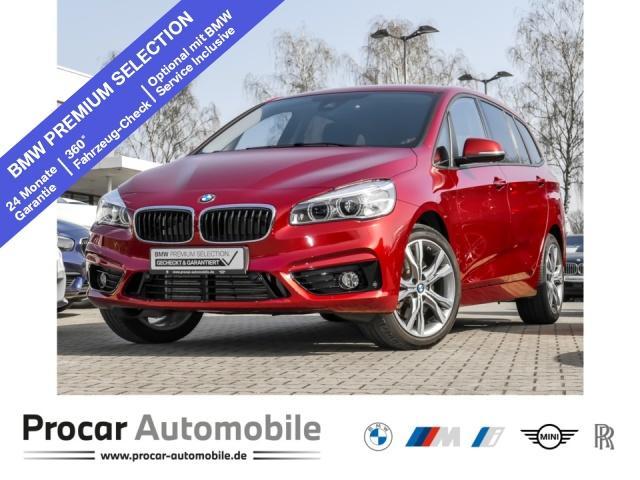 BMW 220 Gran Tourer Sport Line Sport Aut. EDC AHK, Jahr 2017, Benzin